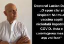 """Medicul Lucian Duță: ,,Nu mi-aș vaccina copiii niciodată împotriva COVID""""- motivele:"""
